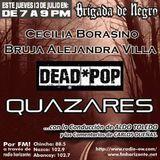 Brigada junto a  Cecilia Borassino, La Bruja Alejandra Villa,  Quazares y Dead*pop