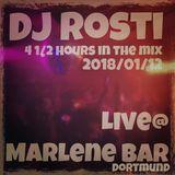 DJ Rosti Live @MARLENE Bar 2018/01/12