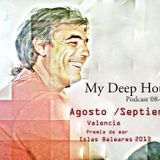 My Deep House-Mixed Fede Cattoni./Podcast 08-2013