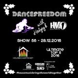 dancefreedom show 56 - 28122016 - housecharts ultimate top 5 2016