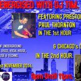 Energised With DJ Tim Featuring Paul Thornton & DJ Izrail - 1/11/14/ - 103.2 Preston Fm.