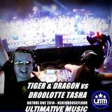 Tiger & Dragon vs Droolotte Tasha - live at Nature One 2014 Hexenhousefloor
