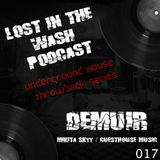 LOST IN THE WASH PODCAST 017 - DEMUIR