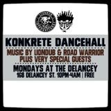 LIONDUB & ROAD WARRIOR - 1.29.18 - KONKRETE DANCEHALL NYC (LIVE)