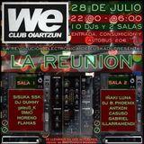 Sisuka Ssk en La Reunión en We Club (28.07.18)
