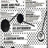 DJ Eric Adamo - Live Disco Fever 1982 Danceteria New York