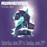 Adam Beyer, Alan Fitzpatrick, Joseph Capriati & Paul Ritch (Live) @ Awakenings Festival 2014 #1