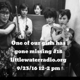 one of our girls has gone missing #18 special guest micki pellerano little water radio