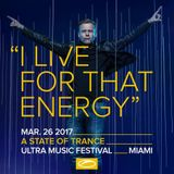 A State Of Trance 800 Miami - Warm-up with Armin van Buuren (Ultra Music Festival)