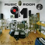 Dj MaximoV - Music Room Guest Mix on UE Beatz Radio 2.04.2016