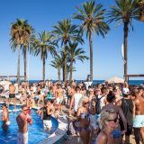 Opening IBIZA JET live set (Tiare Beach pool party) 18 May 2015 by Resident DJ, JEY INDAHOUSE.