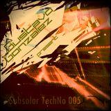 Subsolar TechNO 005 by Gustavo González - Special Weekend (December)