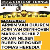 Tomas Heredia - A State of Trance 600 (Sao Paulo, Brazil) - 01.03.2013