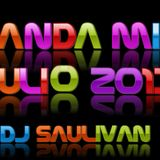 BANDA MIX JULIO 2013- DJ SAULIVAN