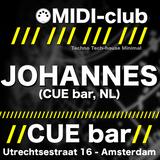 Johannes @ MIDI-club Spring Edition at CUE bar - 18-05-2012
