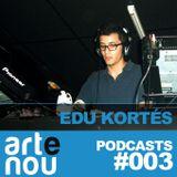 ARTeNOU-podcast vol.III presents EDU KORTÉS mixtape