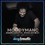 Deeplomatic Recordings - Moodymanc – Podcast 21 – 21/09/16