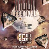 DJ XENTRIX Electronic Moon podcast July 2015 TECHNO