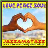 LOVE PEACE SOUL= James Brown, Minnie Riperton, Quincy Jones, Sharon Jones, Roberta Flack, Anna King,