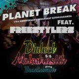 Dialect B2B Melodrastik with Beastieboxer, Live @ Groove Nation, opening set for Freestylers
