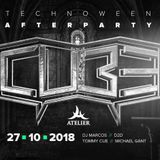 26.10.18 | CUBE TECHNOWEEN | OFFICIAL AFTERPARTY @Atelier club