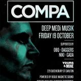 Gada - Dark Riddims events  supporting Compa UK @ Yours&Mine