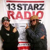 Selekta G live show on 13 Starz Radio 20.10.16 special guest ILEMENTS