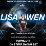 Trance Around The Globe With Lisa Owen Episode 106 DJ STEFF