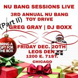 Greg Gray Live at Nu Bang's 3rd Annual Toy Drive (Chicago) - PART 2