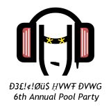 6th Annual Pool Party