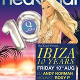 QBar Live - Hedkandi, Ibiza 10 Years. live at QBar Bangkok (Andy Norman & Roxy P)