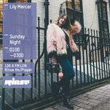 The Lily Mercer Show   Rinse FM   March 20th 2016  