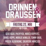 DRINNEN&DRAUSSEN   22/05/15   23H   RATSKELLER RE
