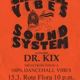 Crucial Vibes Soundsysten 5th Annyversary at Rote Flora, feat Dr Kix