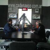 Jorge Mancini Srio Gral de trabajadores de Medio Ambiente en Estado Ciudadano con Osvaldo Meijide