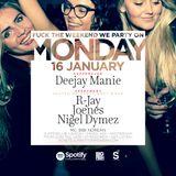 Deejay Manie LiveSet no. 1 @ Monday (Nu Soul)