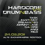 Fast Eddy & Dj Task@Fest der Klänge Rostock(Hardcore vs Drum'n Bass)24.09.2011