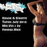 House & Electro Tunes July 2012 Mix Vol.1