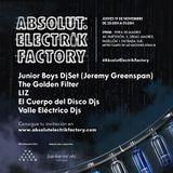 El Cuerpo del Disco DJs @ Absolut Electrik Factory. 19/11/2015