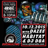 Dazee Presents The Ruffneck Ting Takeover 10.12.2105 with Guest mixes from Habitat and D8a