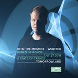 Ruben De Ronde - Tomorrowland 2018 (A State Of Trance Stage 27.07.2018)