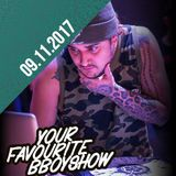 Your Favourite B.Boyshow | 09.11.17 | DJ Nobunaga on the phone
