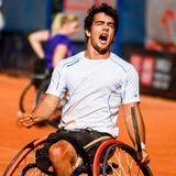 """Daniel Caverzaschi, tenista paralímpico: """"Voy a dejarme la piel en cada partido de Río"""""""