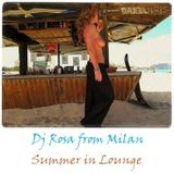 DJ Rosa from Milan - Summer in Lounge