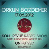 Orkun Bozdemir - FG Sunday Residents - 17.06.2012- SOUL REVUE RADIO SHOW