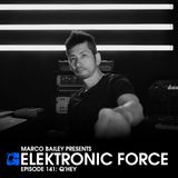 Elektronic Force Podcast 141 with Q'Hey