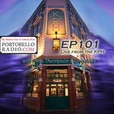 Portobello Radio Radio Show Ep 101, with Piers Thompson & Greg Weir: Expect the unexpected.