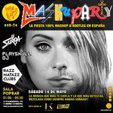 MashuParty #49 - DJ Surda & Playskull DJ (MashCat Team) - PopBar Razzmatazz (2016/05/14)