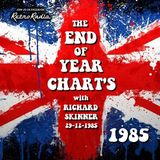 END OF YEAR CHART 1985 - Richard Skinner - 29-12-1985