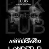 Live Club Pamplona November 2016 (Lander B Sesion)